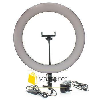 Кольцевой свет (селфи кольцо) 36 см DIMMABLE  для блогера / селфи / фотографа / визажиста (1036-no_tripod)