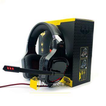 Игровые наушники Ovleng GT96 с микрофоном и RGB подсветкой геймерские для компьютера и ноутбука (1045)