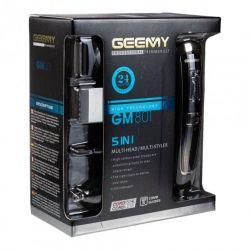 Набор для стрижки волос усов бороды Geemy GM-801 триммер с насадками для носа и ушей 5 в 1