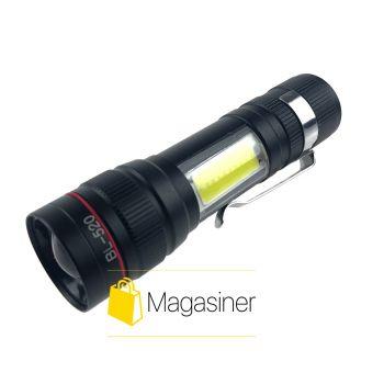 Аккумуляторный светодиодный ручной фонарь BL 520 LED (1085)