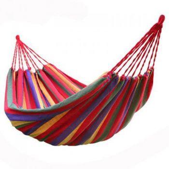 Мексиканский хлопковый гамак подвесной 1800*800 в чехле