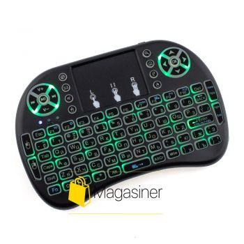 Клавиатура беспроводная Protech Mini Keyboard UKC с подсветкой (111-tg)