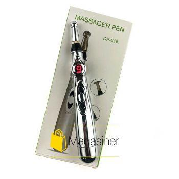 Ручной акупунктурный массажер ручка Massager Pen для тела на батарейках (1130)