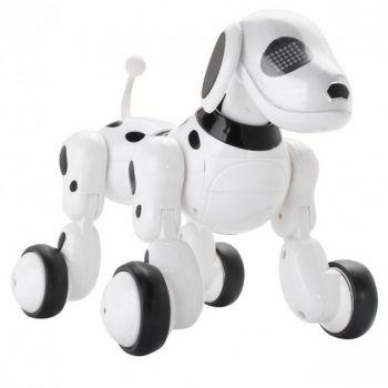Собака робот Smart Pet Robot Dog на радиоуправлении с аккумулятором интерактивная игрушка для детей