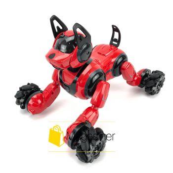 Собака робот на радиоуправлении Stunt Dog интерактивная игрушка для детей с пультом управления