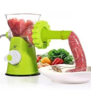 Ручная механическая мясорубка Multi Function Mincer c насадками для колбасы многофункциональная