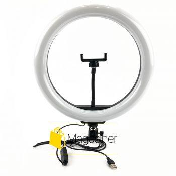 Селфи кольцо (кольцевой свет) 33 см Ring Fill Light LC-330 для блогера / селфи / фотографа / визажиста (1253-no_tripod)