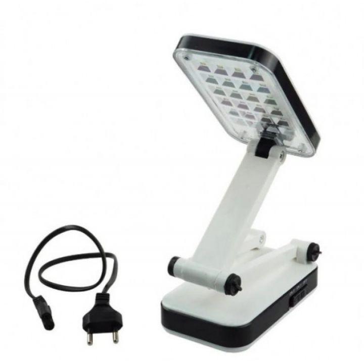 Настольная аккумуляторная светодиодная лампа Yiteng YT-666 LED 24 светильник трансформер