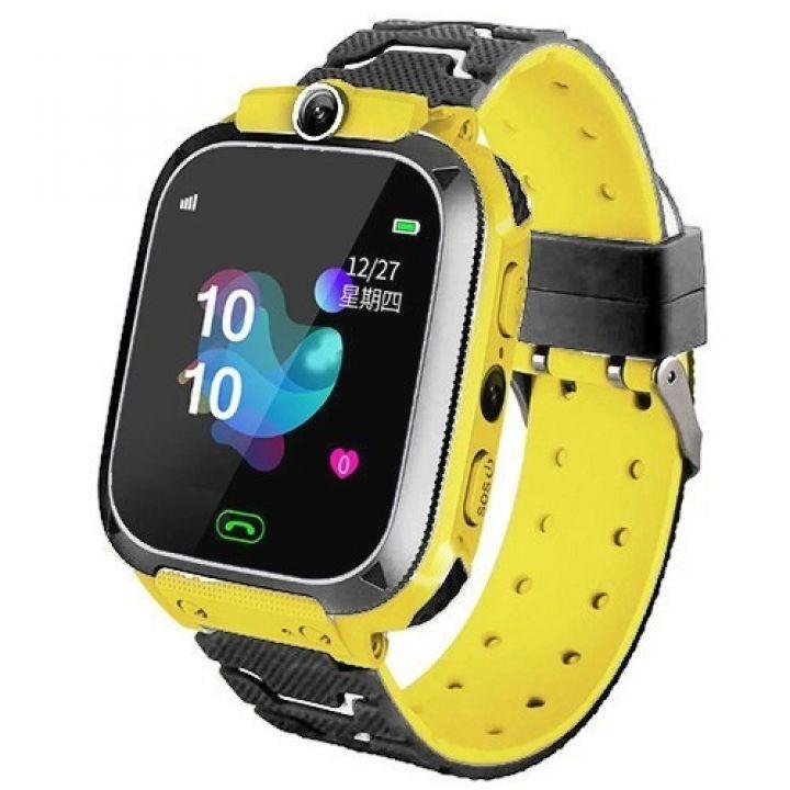 Детские смарт часы Smart Baby Watch TD07 с камерой GPS трекером желтые
