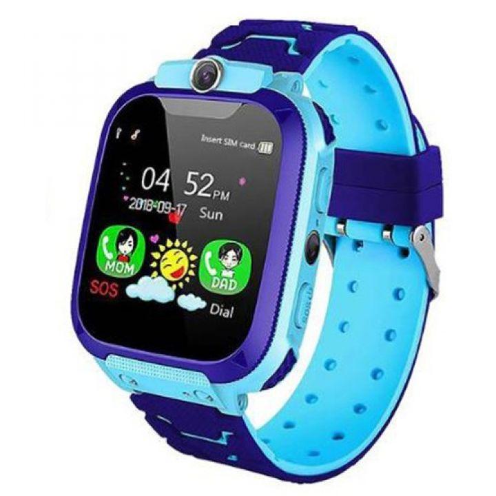Детские смарт часы Smart Baby Watch TD07 с камерой GPS трекером синие