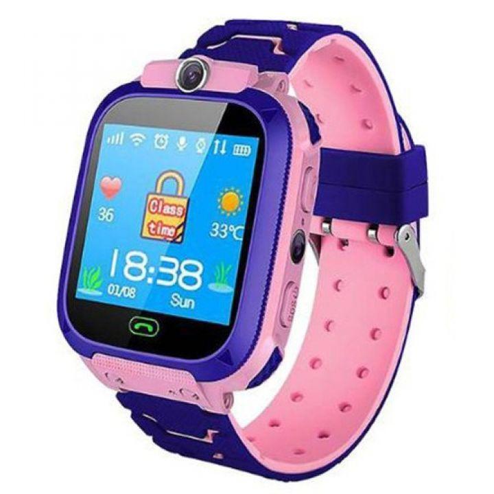 Детские смарт часы Smart Baby Watch TD07 с камерой GPS трекером розовые