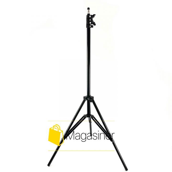 Штатив для кольцевой лампы 2 метра, GoPro, Камеры, Фотоаппарата, Студийная фото стойка (1265-tg)