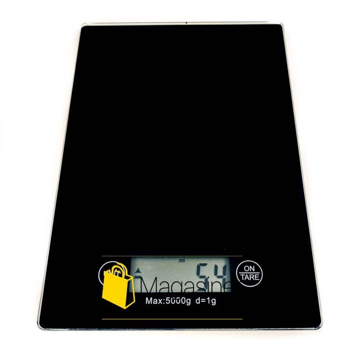 Кухонные электронные весы 5 кг Electronic Kitchen Scale черные (1282)