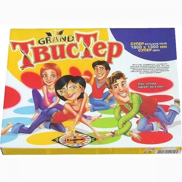 Игра большая напольная Гранд Твистер Grand twister Danko Toys для детей и всей семьи 180 х 130 см