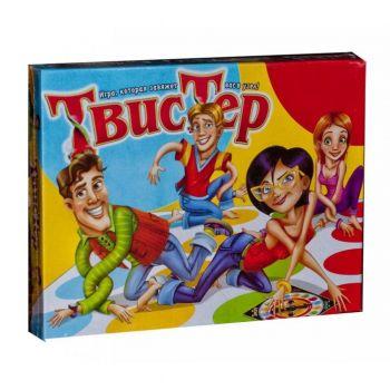 Игра большая напольная Твистер Twister Danko Toys для детей и всей семьи 1450х1100 см