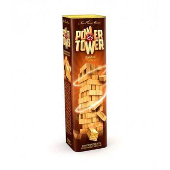Настольная развлекательная игра Дженга Jenga Power Tower Danko Toys развивающая настолка для всей семьи