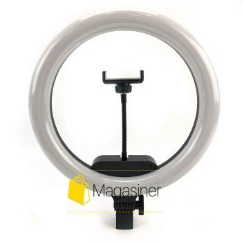 Кольцевая лампа (селфи кольцо) 33 см AL-33 с пультом для блогера / селфи / фотографа / визажиста (1303-no_tripod)