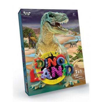 Игровой развивающий набор для мальчиков Dino Land 7 в 1 Danko Toys настольная игра