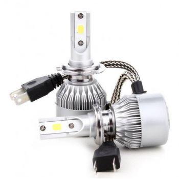 Светодиодные лед лампы для авто C6-H7 автомобильные LED лампочки для фар HeadLight