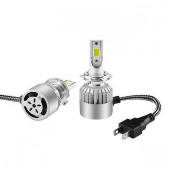 Светодиодные лед лампы для авто C6-H3 автомобильные LED лампочки для фар HeadLight
