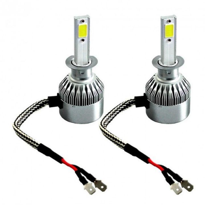Светодиодные лед лампы для авто C6-H1 автомобильные LED лампочки для фар HeadLight