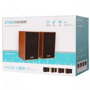 Настольные проводные мини колонки ZYGD M08 для ПК ноутбука телефона маленькая usb акустика