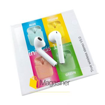 Беспроводные наушники Inpods 12 TWS Bluetooth white (1391)