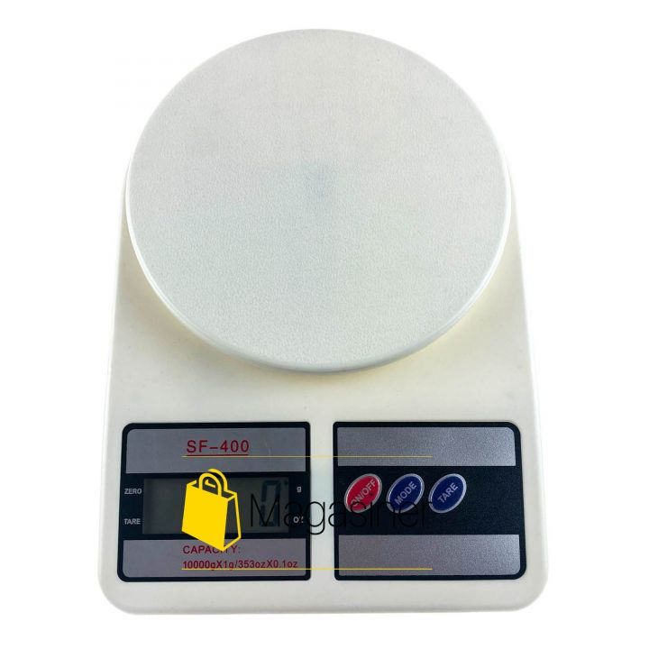 Кухонные электронные весы 10 кг Electronic Kitchen Scale SF-400 белые (1399)