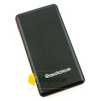 Повербанк зарядное устройство Reddax Metal 12000 mAh black (143-tg)