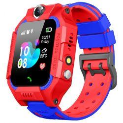 Детские смарт часы Baby Smart Watch Q6 с камерой GPS трекером красные