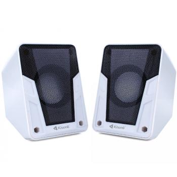 Настольные проводные мини колонки Kisonli A-505 для ПК ноутбука телефона маленькая usb акустика