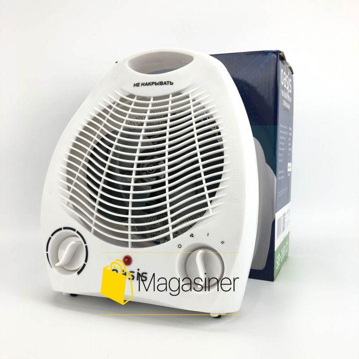 Тепловентилятор Oasis SB-20R спиральный, с защитой от перегрева (1566)