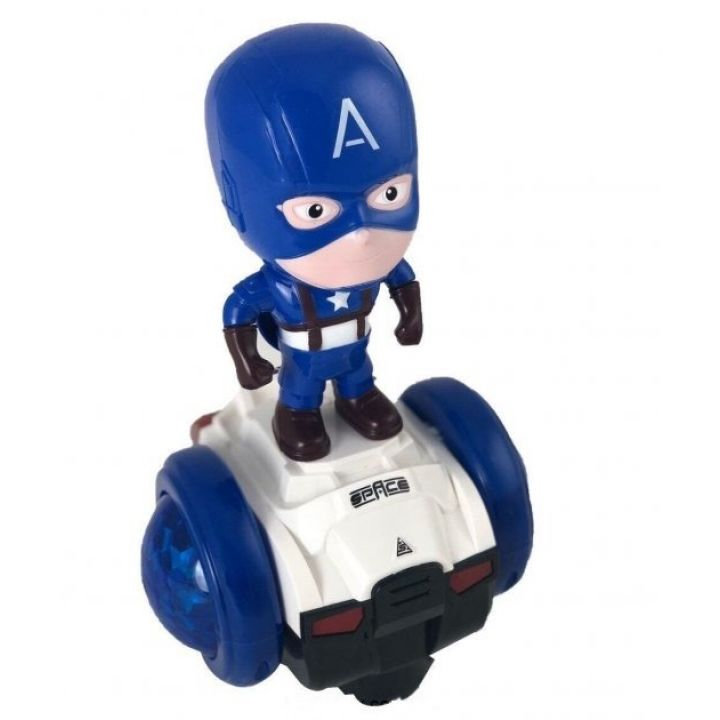 Интерактивная игрушка  машинка Super CAPTAIN Сar Капитан Америка со световыми эффектами и музыкой