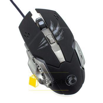 Мышь проводная Apedra A8 3200 DPI Gaming черная (162-tg)