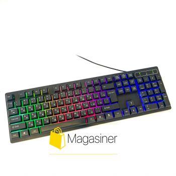 Игровая клавиатура с подсветкой UKC KR- 6300 LED (165)