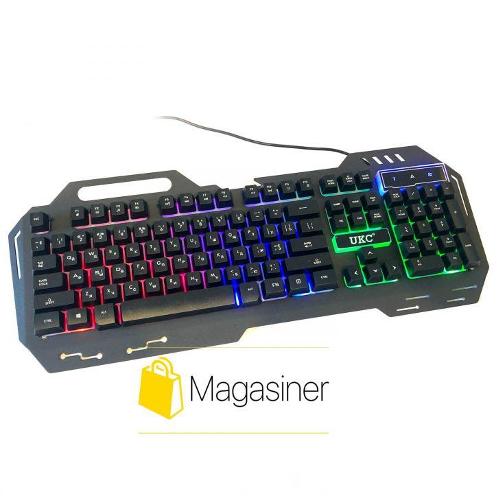 Игровая клавиатура с подсветкой KW-900 LED (166)