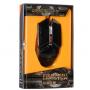 Игровая проводная мышка Zornwee Equipmet Master GX20 3200 dpi мышь компьютерная геймерская LED подсветка черная