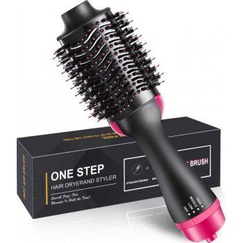 Керамическая фен щетка для укладки волос 3 в 1 One Step Hair Dryer and Styler New фен расческа, стайлер, электрорасческа, массажная электрощетка