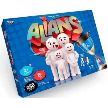 Настольная развлекательная игра Alians Альянс Danko Toys развивающая настолка для всей семьи (укр)
