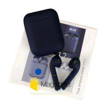Беспроводные наушники Inpods 12 TWS Bluetooth dark blue (1752)