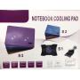 Охлаждающая подставка для ноутбука S2 регулируемая с подсветкой и вентилятором usb
