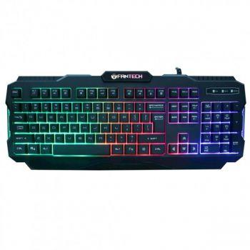 Игровая клавиатура с подсветкой Fantech Hunter Pro K511 проводная геймерская keyboard для ПК Черная