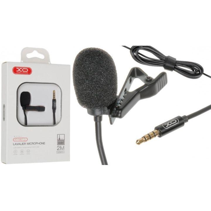 Петличный микрофон петличка XO-MKF 01 для телефона смартфона пк