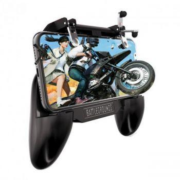 Игровой геймпад триггер для телефона  SR 2000 mAh с охлаждением для pubg mobile пубг пабг мобайл