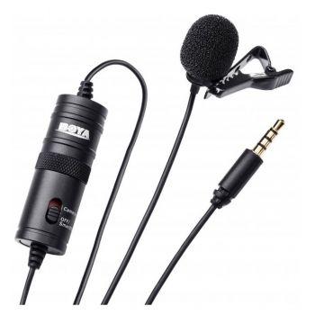Петличный микрофон Boya BY-M1 для телефона, камеры, компьютера (петличка Боя М1)