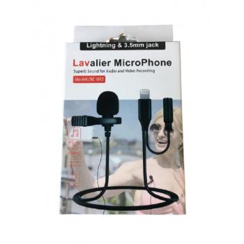 Петличный микрофон петличка JBC-052 lightning для телефона iphone айфона