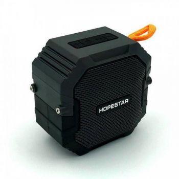 Беспроводная портативная мощная bluetooth колонка Hopestar T7 с влагозащитой IPX6 черная