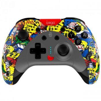 Беспроводной игровой геймпад джойстик  Ipega PG-SW023EN для Android/PC/IOS/PS4/PS3/Nintendo контроллер черный