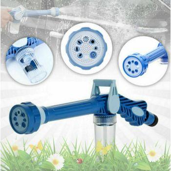Универсальная насадка-распылитель воды на шланг для полива растений EZ JET Water Cannon