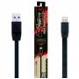 USB кабель Remax FullSpeed RC-001i lightning  1м для быстрой зарядки айфона черный
